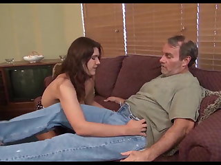 Gothic Big tit daughter wants her Daddy