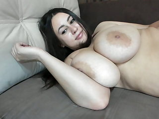 #1 brunette with big saggy tits