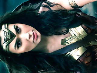 Cum On Gal Gadot Wonder Woman Tribute Gal Gadot