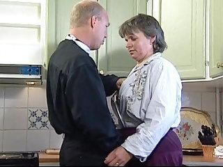 Swedish Swedish GILF Martha Karlsson fucks the priest (2 scenes)
