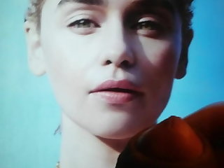 Pussy Emilia Clarke cum tribute 6