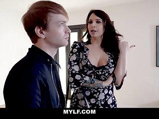 Redheads MYLF -  Bodacious MILF Teases and Fucks Her Stepson
