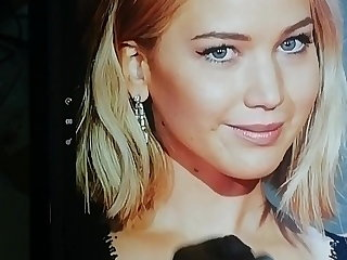 Ghetto Jennifer Lawrence cumtribute 6