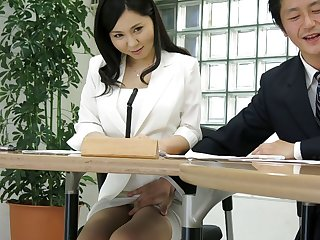 Swedish Japanese lady, Miyuki Ojima got fingered, uncensored