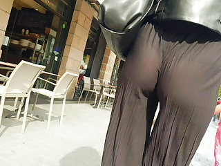 Orgy Voyeur 2 girl sexy ass tanga, pantalon transparent french