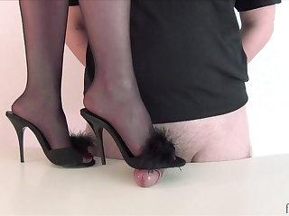 Foot Fetish Mlle Fanchette - Mise en scene
