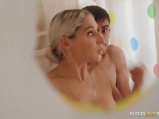 Lebanese Brazzers - Shower-Curtain Cock I FULL SCENE