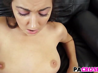 Ballbusting Daddy Bangs His Pretty Stepdaughter