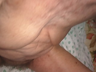 American 80 yo granny swallows cum