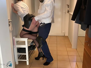 Glory Holes business meeting, home office anal fuck - business-bitch