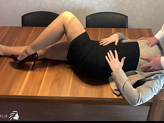 Alien personal assistant face fucked, deep throat - business-bitch