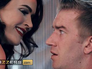 Xmas Horny Stripper Krissy Lynn Seduces Danny D, Big Juicy Cock