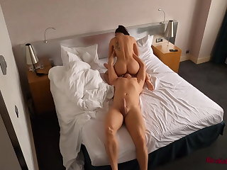 Lingerie Hidden Hotel Cam Recorded Hot Sex in Different Positions