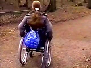 Lesbians Disabled girl is still sexy.flv